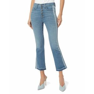 """Veronica Beard Jeans Carolyn 10"""" Baby Boot Cropped"""